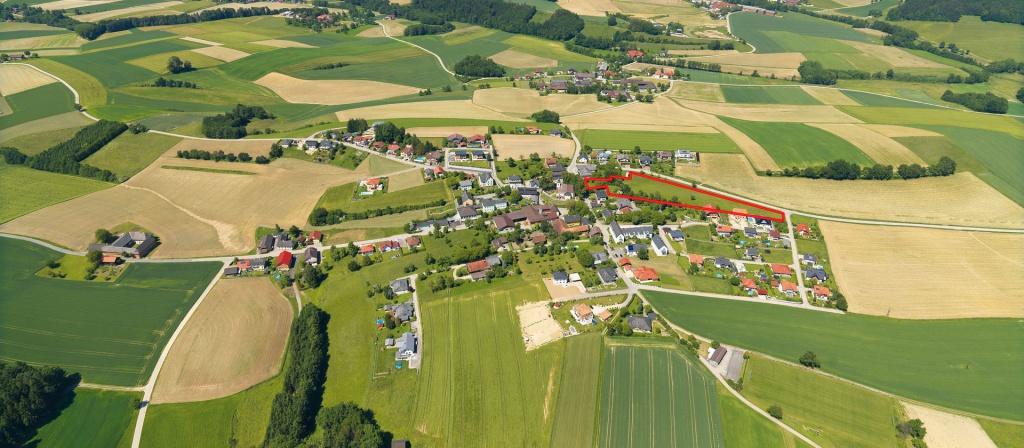 Lageplan Baugrund Aichkirchen